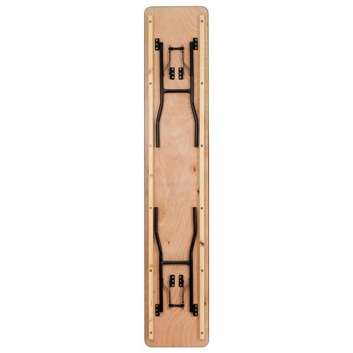 Flash Furniture X Rectangular Wood Folding Training - 18 x 96 training table