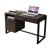 Fuerza Home Office Writing Desk with Pull-Out Drawers