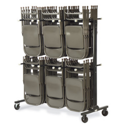Virco HCT6072 - Chair truck/storage cart for folding chairs - 84 chair capacity  (Virco HCT6072)