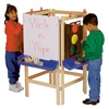 Jonti-Craft Four-Way Adjustable Easel  (Jonti-Craft JON-0654JC)