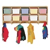 Jonti-Craft Baltic Birch Large Wall-Mount Coat Rack with out Cubby Trays  (Jonti-Craft JON-0770JC)