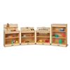Jonti-Craft Toddler Kitchen 4 Piece Set  (Jonti-Craft JON-2431JC)