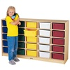 Jonti-Craft 25-tub Single Storage Unit With Clear Tray  (Jonti-Craft JON-40260JC)