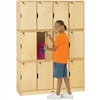 Jonti-Craft Baltic Birch Stackable Lockers - Triple Stack  (Jonti-Craft JON-4697JC)