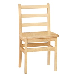 "Jonti-Craft Ladder Back Chairs - Set of Two 16""  (Jonti-Craft JON-5916JC2)"