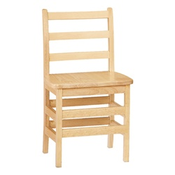 "Jonti-Craft Ladder Back Chairs - Set of Two 18""  (Jonti-Craft JON-5918JC2)"