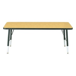 "Jonti-Craft 1 1/8"" Rectangle Preschool Activity Table 30"" W x 72L""  (Jonti-Craft JON-6413JC)"