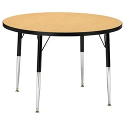 "Jonti-Craft 1 1/8"" Round Preschool Activity Table 42"" Diameter  (Jonti-Craft JON-6468JC)"