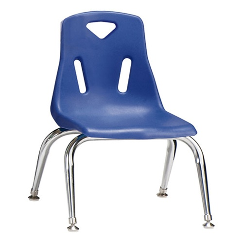 Etonnant Jonti Craft Stackable School Chair With Chrome Legs 10u0026quot; Seat Height ( Jonti