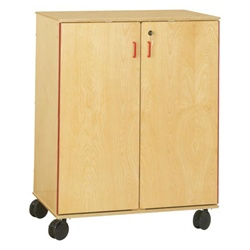 Jonti-Craft Supply Cabinet With 2 Drawers and  3 Adjustable Shelves  (Jonti-Craft JON-9510JC)