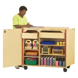 "Jonti-Craft Supply Cabinet 45""  (Jonti-Craft JON-9511JC)"