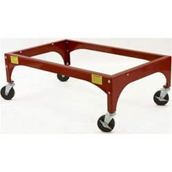 L.A. Baby Red Evacuation Frame with Casters (LAB-504 or LBB-504)