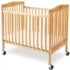 L.A. Baby The Pocket Crib-Mini - Portable Folding Wood Crib -- Mattress Included (L.A. Baby, LAB-883)