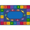 Learning Carpets Alphabet Cars - Rectangle Large