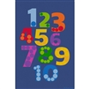 Learning Carpets Alphabet Scramble -Number Pile- Rectangle Large