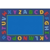 Learning Carpets Alphabet Scramble -Boarder Alphabet Scramble- Rectangle Large