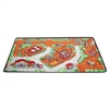 Learning Carpets Alphabet Scramble -Construction Zone Play Carpet e- Rectangle Large