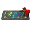 Learning Carpets Alphabet Scramble -Driving in the Park Play Carpet - Rectangle Large