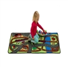 Learning Carpets Alphabet Scramble -Let's Hop on the Train Play Carpet - Rectangle Large