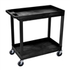 "Luxor E Series EC11 - Tub Cart 2 shelves -  35.25"" W x 34.25"" H (Luxor LUX-EC11)"