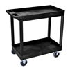 "Luxor E Series EC11HD - Tub Cart 2 Shelves HD Model -  35¼"" W x 35¼"" H (Luxor LUX-EC11HD)"