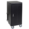 Luxor LLTM24-B 24 Tablet/Chromebook Charging Cart(Luxor LUX-LLTM24-B)