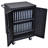 Luxor LLTP24-B 24 Laptop & Chromebook Charging Cart (Luxor LUX-LLTP24-B)