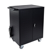 Luxor LLTP32-B 32 Laptop/Chromebook Charging Cart with Timer (Luxor LUX-LLTP32-B)