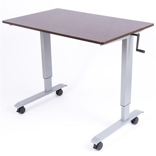 Adjustable Stand Up Desk >> Luxor Standup Cf48 Dw 48 Crank Adjustable Stand Up Desk