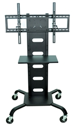 H. Wilson Mobile LCD / Flat Panel Mount and Stand - Black  (H. Wilson LUX-WPSMS51)