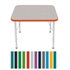 "Mahar Small Rectangle Creative Colors Activity Table (24"" x 30"")  (Mahar MHR-2430)"