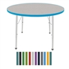 "Mahar Large Round Creative Colors Activity Table (42"" Diameter)  (Mahar MHR-42RN)"