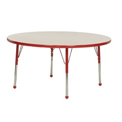 "Mahar Large Round Creative Colors Activity Table (60"" Diameter)  (Mahar MHR-60RN)"