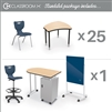 MooreCo CRX-25-7909-XXXX Classroom X Basic Complete Classroom Package Set (53 Items) - (5th-adult) ship in just 5 days! (MooreCo MOR-CRX-25-7909-XXXX)