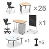 MooreCo CRXM-25-7909-XXXX Classroom X Basic Plus Complete Classroom Package Set (59 Items) - (5th-adult) ship in just 5 days! (MooreCo MOR-CRXM-25-7909-XXXX)