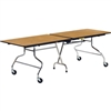 "Virco MT3096 - Mobile Folding Cafeteria Table - Bullnose T Mold Edge - 30""W x 8'L (Virco MT3096)"