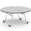 "Virco MT60RAE - Round Mobile Folding Cafeteria Table - Sure Edge - 60"" Dia (Virco MT60RAE)"