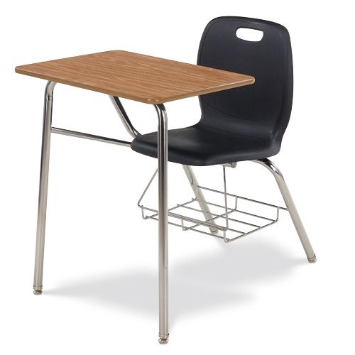 Virco N2 Series Combo School Desk   Laminate Top (Virco N240BR)