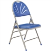 NPS Polyfold Fan Back Triple Brace Double Hinge folding chair  (National Public Seating NPS-1100)