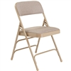 NPS Fabric Upholstered Premium Folding Chair Triple Brace Double Hinge  (National Public Seating NPS-2300)