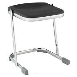 "NPS Elephant Z-stool 18""H Stool with Blow Molded Seat  (National Public Seating NPS-6618)"