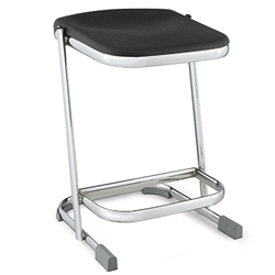 "NPS Elephant Z-stool 22""H Stool with Blow Molded Seat  (National Public Seating NPS-6622)"