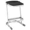 "NPS Elephant Z-stool 24""H Stool with Blow Molded Seat  (National Public Seating NPS-6624)"