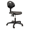 "NPS Polyurethane Task Chair, 16""-21"" Height, Black National Public Seating NPS-6716HB"