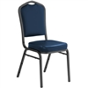 NPS 9300 Silhouette Vinyl Padded Stack Chair  (National Public Seating NPS-9300)