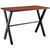 "NPS CLT3060B2 - Collaborator Table, 30""x60"" Rectangle, 42"" Height w/ Crossbeam, High Pressure Laminate Top"