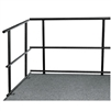 "NPS 48""W Guard Rails for Stages  (National Public Seating NPS-GRS48)"