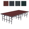 "NPS Portable Stage with Carpet - 48""W x 96""L x 32""H  (National Public Seating NPS-S4832C)"