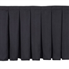 NPS Box-Pleat Skirting for 32 inch H Stage (National Public Seating NPS-SB32)