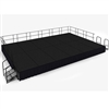 "NPS SG482412C Portable Stage Groups w/ Carpet Surface - 16'D x 24'W x 24""H (National Public Seating NPS-SG482412C)"